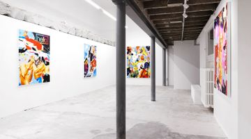 Contemporary art exhibition, Norbert Bisky, Unrest at Fabienne Levy, Lausanne, Switzerland
