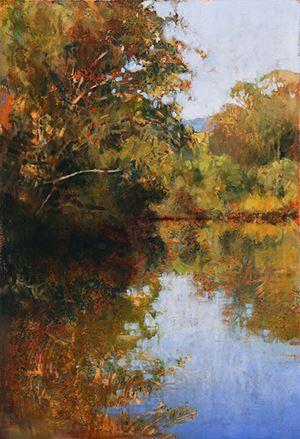 Petrie Creek by A.J. Taylor contemporary artwork