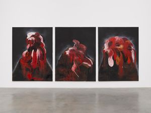 Blackness From Her Wound by Anish Kapoor contemporary artwork
