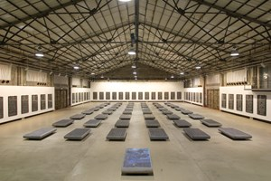 Forest of Stone Steles - Retranslation & Rewriting of Tang Poetry by Gu Wenda contemporary artwork