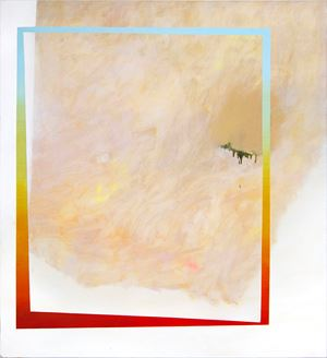 Sunset(field) by Min Ha Park contemporary artwork