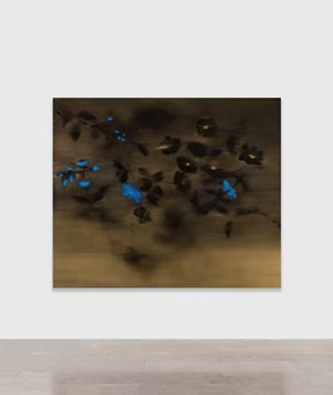 Love and Letting Go III by Ross Bleckner contemporary artwork painting