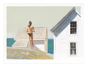 The Outer Shoals by Bo Bartlett contemporary artwork