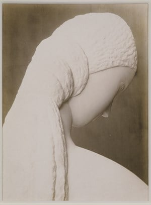 Woman Looking at Herself in a Mirror (dedicated to Kiki) by Constantin Brancusi contemporary artwork