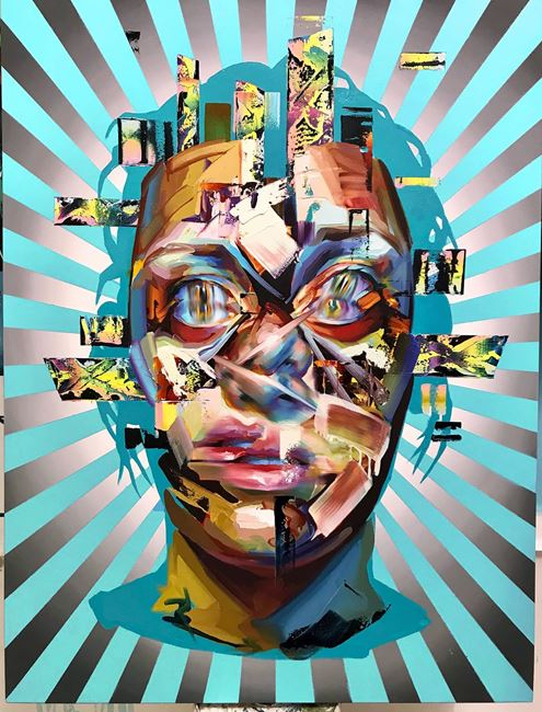 Mesmerised I by Justin Bower contemporary artwork