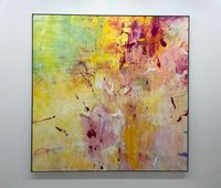 Spring Winds by Tamihito Yoshikawa contemporary artwork painting, works on paper