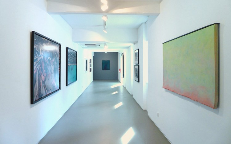 Exhibition view: Group Exhibition,Winter Group Show,  Sundaram Tagore Gallery, Sungapore (5 December 2014–17 January 2015). Courtesy Sundaram Tagore Gallery.