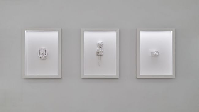 Paper Relics by Daniel Arsham contemporary artwork