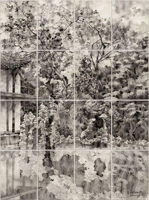 He Garden by Chen Qi contemporary artwork