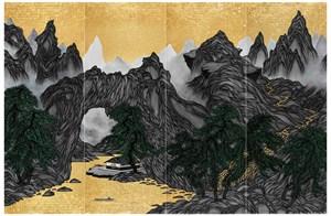 Vimalā-bhūmi : String lake 離垢地:串穴湖 by Yao Jui-chung contemporary artwork