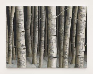 Afterglow by Sean Landers contemporary artwork