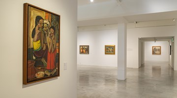 Contemporary art exhibition, Cheong Soo Pieng, Soo Pieng: Master of Composition at STPI - Creative Workshop & Gallery, Singapore