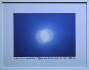The Double Sun by Juan Zamora contemporary artwork