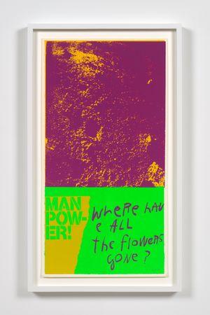 moonflowers by Corita Kent contemporary artwork