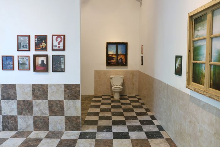 Exhibition view: Group Exhibition, Adrift, Chambers Fine Art, New York (24 January–2 March 2019). Courtesy Chambers Fine Art.