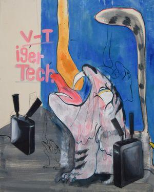 V-Tiger Tech by Kaito Itsuki contemporary artwork