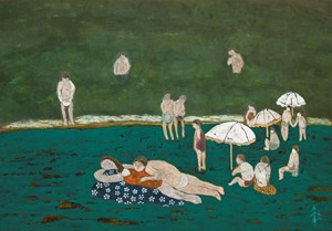 On the Beach by Chu Hing-Wah contemporary artwork