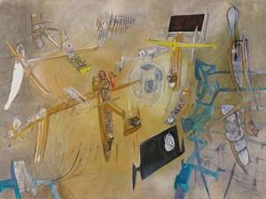 Les Témoins de l'univers by Roberto Matta contemporary artwork