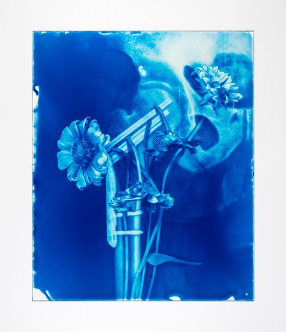 Blood Blue No.23 by Hu Weiyi contemporary artwork