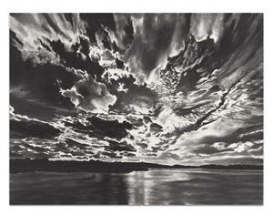 Gloria Mundi by April Gornik contemporary artwork works on paper