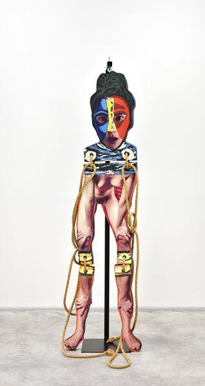 Standing Nude no.4 by Karel Appel contemporary artwork