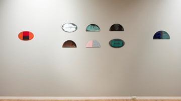 Contemporary art exhibition, Gretchen Albrecht, On Copper at Two Rooms, Auckland
