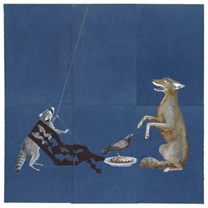 Spirit Dish by Julie Buffalohead contemporary artwork