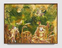 Daisies in the Wheat Field by Marnie Weber contemporary artwork painting, photography