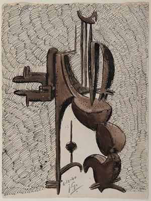 Projet de sculpture by Julio Gonzales contemporary artwork