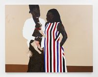 Red Collar by Amoako Boafo contemporary artwork painting