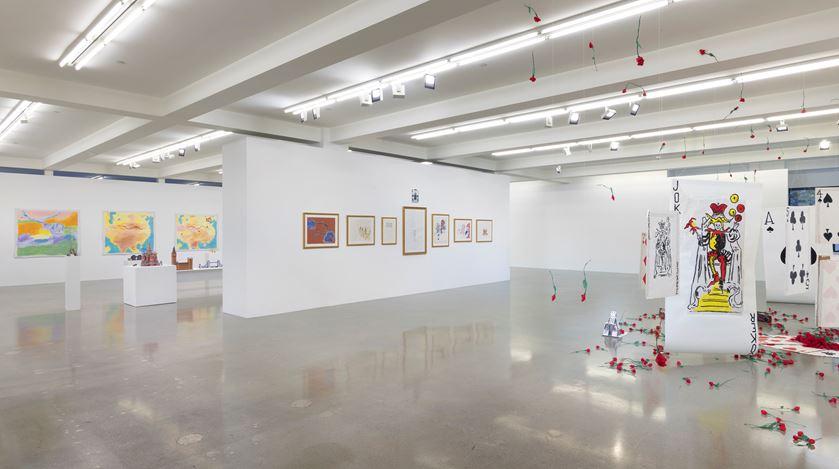 Exhibition view: Karen Kilimnik, Sprüth Magers, Los Angeles (12 September–26 October 2019). Courtesy Sprüth Magers.