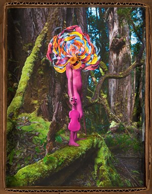 Songs in My Head by David LaChapelle contemporary artwork