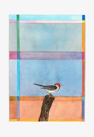 Cabeça Vermelha (pouso) by Efrain Almeida contemporary artwork