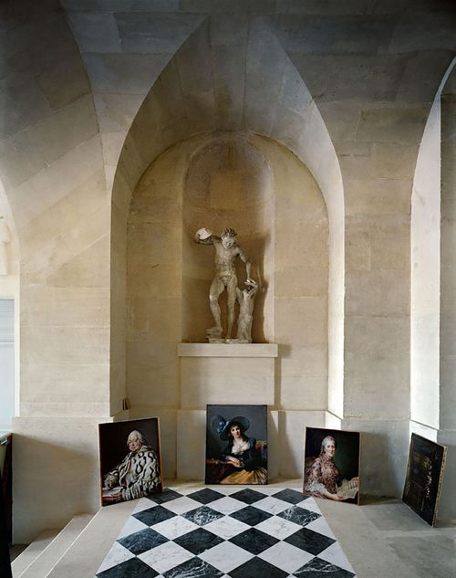 Galerie Basse, (51) CCE.01.041, Corps Central - R.d.C, Château de Versailles, France by Robert Polidori contemporary artwork
