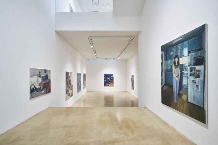 Exhibition View: Dongwook Suh,The Taste of Painting, ONE AND J. Gallery, Seoul (3 November–6 December 2020). Courtesy ONE AND J. Gallery.