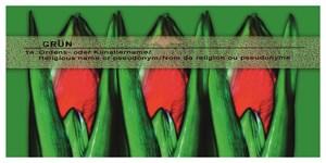 Amaryllis Triptychon (Amaryllis Triptych) by Hans-Joachim Ellerbrock contemporary artwork