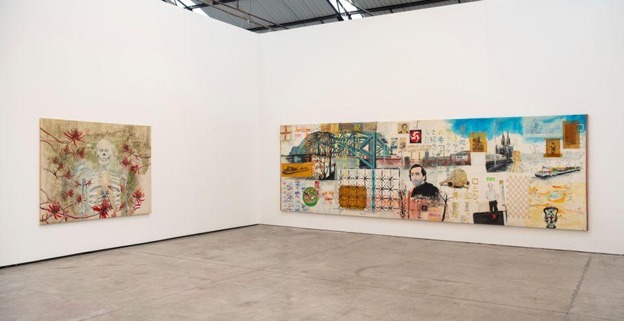 Exhibition view: Luiz Zerbini,Luiz Zerbini 1990s,Fortes D'Aloia & Gabriel, São Paulo (24 April–12 June 2021). Courtesy Fortes D'Aloia & Gabriel.