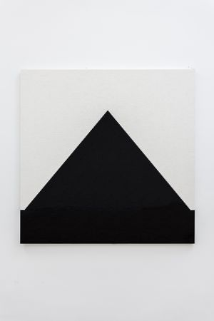 Black Pyramid on White by Michael Wilkinson contemporary artwork
