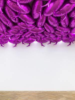 Speech Bubbles (Fuchsia) by Philippe Parreno contemporary artwork