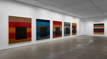 Contemporary art exhibition, Sean Scully, The 12 / Dark Windows at Lisson Gallery, West 24th Street, New York, USA