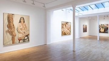 Contemporary art exhibition, Philip Pearlstein, At 95 at Templon, 30 rue Beaubourg, Paris, France