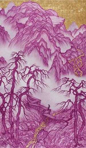 Good Times: Hiking Along 好時光:獨行俠 by Yao Jui-chung contemporary artwork