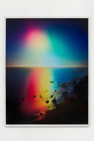 Untitled (Sunset #5) by Florian Maier-Aichen contemporary artwork