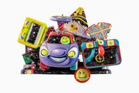 BEEP BEEP by Kenny Scharf contemporary artwork painting, sculpture, mixed media
