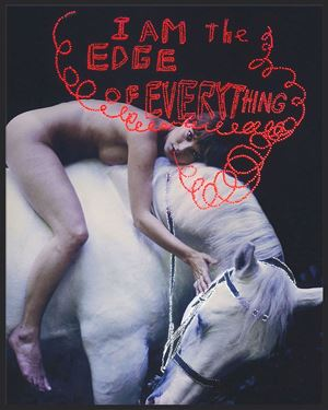 I am the edge of everything by Daniele Buetti contemporary artwork
