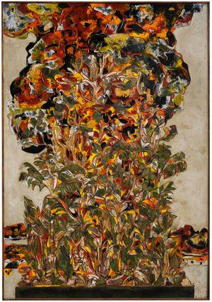 Jungle Bomb by Ugo Schildge contemporary artwork