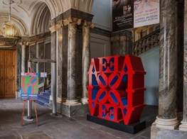 The State Russian Museum bring Robert Indiana retrospective to Saint Petersburg
