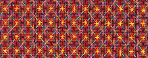 Appearance of Crosses 97-37 by Ding Yi contemporary artwork 2