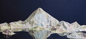 Map 3 by Ji Zhou contemporary artwork