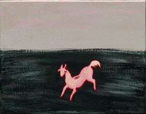 Sanyu's Classic of Mountains and Seas No. 1 常玉山海經 壹 by Lin Ju contemporary artwork